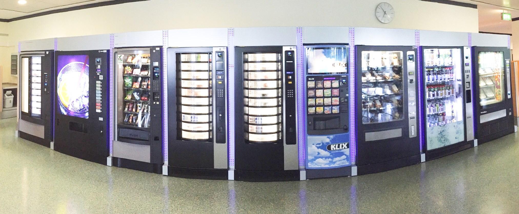 Betriebsverpflegung über Automaten im Vollservice-System